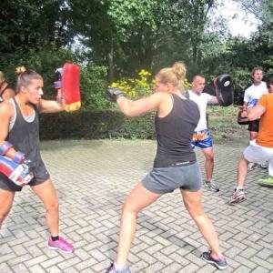 kickboksen leeuwarden kyoku gym buiten training